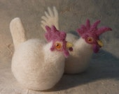 His & Hers Egg Cosies