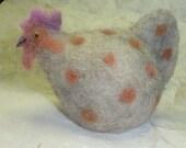 Roberta the spotty Egg Cosy