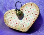 Cute little heart wall decor proceeds to benefit family of Chris Bergland