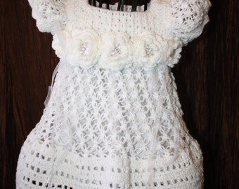 Abby / Christening Dress / Blessing Dress / Christening Gown /  Baptism Gown / Confirmation
