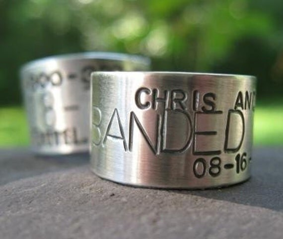 Custom Goose, Duck Band Ring . sterling silver . for the avid hunter in your life . made to order in whole, half or quarter sizes
