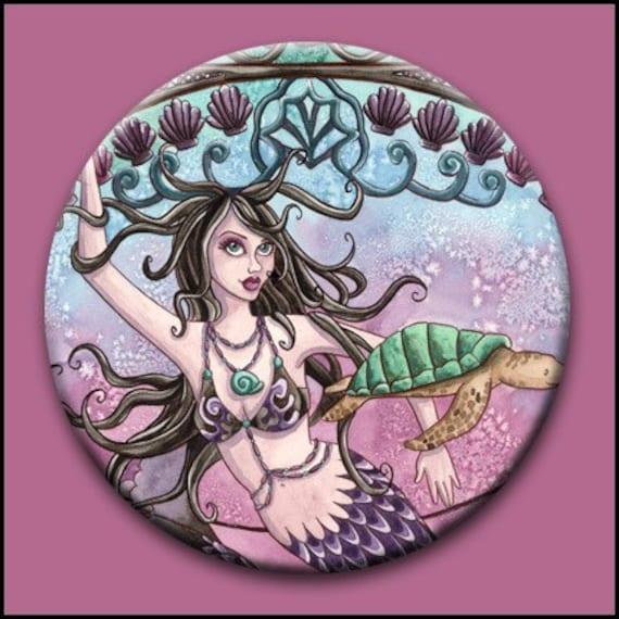 Amara 2 1/4 Button - by Nikki Burnette