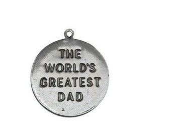 Six in Set, Worlds Greatest Dad Medallion,