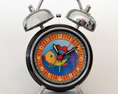 Tropical Fish Retro Alarm Clock by Spirit Lala