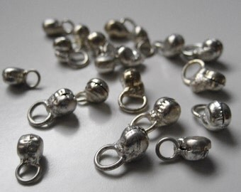 100 Assorted Bells, Jingles in Silver, Gold or Copper - Perfect for Bellydancing (Indian)