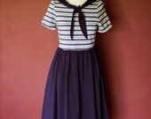 Cute Sailor Dress - Vintage