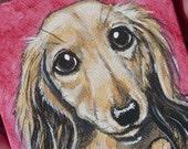 Mini Pet Portrait on Canvas - Custom - Original
