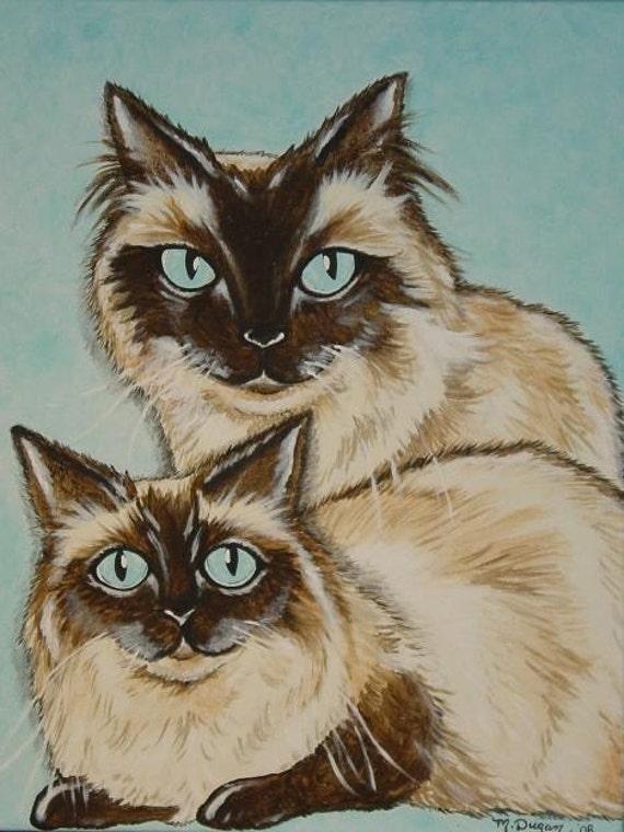 CUSTOM Pet Portrait Original Painting Just for You 18x24