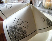 SAMPLE- Cootie Catcher- Origami Wedding FAVOR