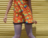 Rainbow Twiggy Dress