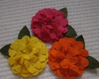 2 Inch Wool Hot Summer Hydrangea