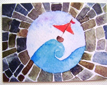 The View From Here Limited Edition ACEO ATC Print