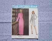 Vogue Couturier Design Pattern by Pucci