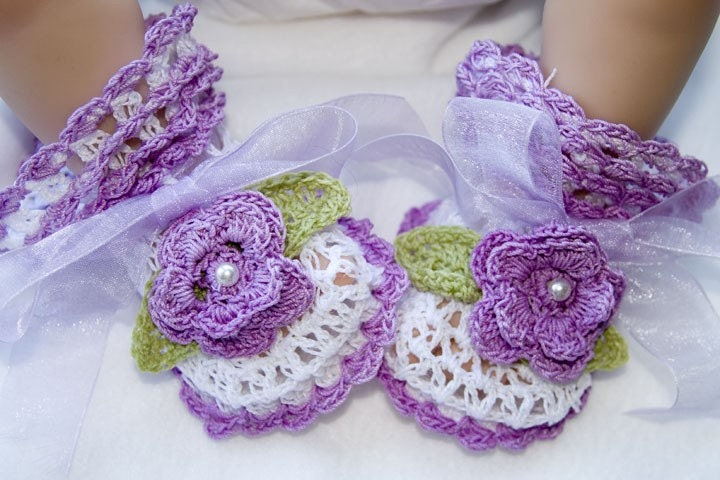 Crochet Fancy Bags : Cheryls Crochet CC37-Fancy Lace V-St Baby by cherylscrochet