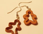 Cookie Cutter Holiday Earrings