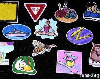 Alphabet / Phonics Magnet / Magnetic Board Set - Letter Y