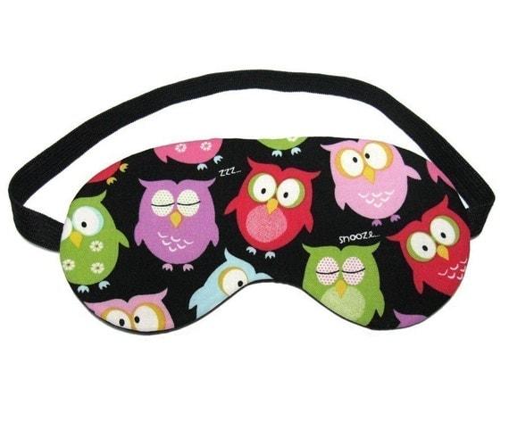 Snoozing Owl Sleep Eye Mask