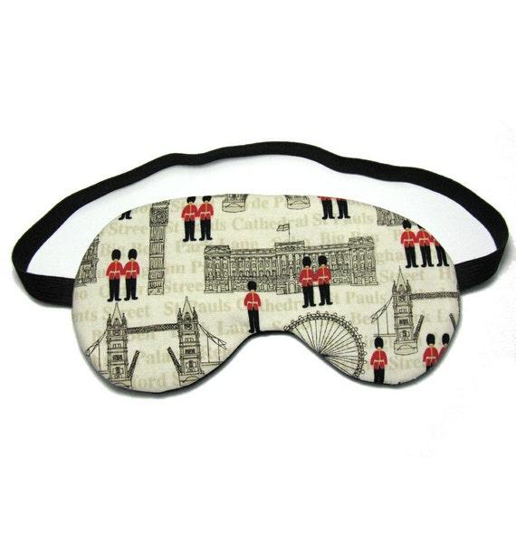 London Soldiers Sleep Eye Mask
