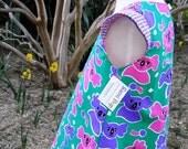 Koala Capped Sleeve Tunic Dress - Size 1 to 3