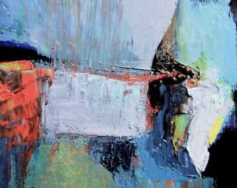 Vol (detail), abstract, fine art reproduction from oil painting, small