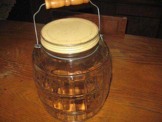 Vintage Peanut, Cookie Jar