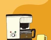 Break Room Coffee Print