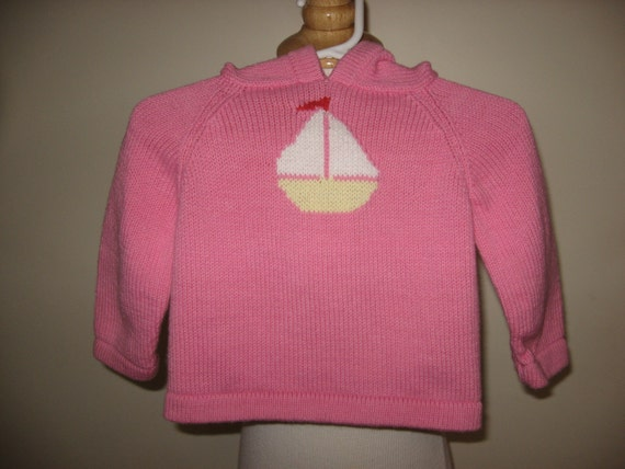 child cotton hoodie zip up the back sweater size 1