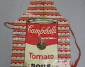 Warhol 100 Cans Pop Art  Apron