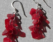 Earrings Red Confetti - E493