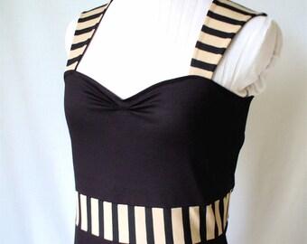 Stripes Cotton Dress