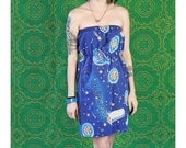 Chips Ahoy COOKIE Pillow Case Outer Space Handmade DRESS Chocolate Chip