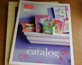 RESERVED LISTING - STAMPIN UP - Idea Book and Catalog - 2001\/2002