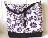 Shoulder Tote in Fresh Flowers - Limited