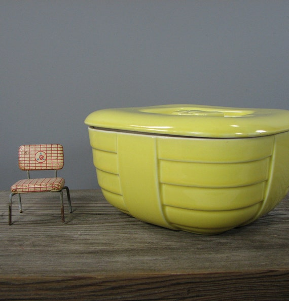Deco Refrigerator Container - Hall China for HotPoint - Yellow