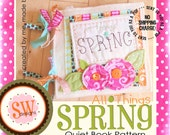 PATTERN for All Things Spring quiet/activity book - digital .PDF download