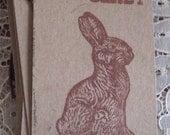 Chocolate Bunny Gift Tags Set of 8