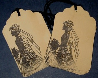 Bride Gift Tags Set of 8