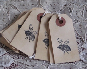 8 Bee  Gift Tags