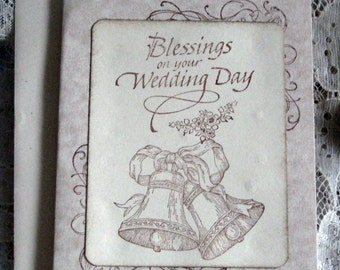 Blessings On Your Wedding Day Card