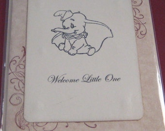 Welcome Little One Greeting Card for Baby