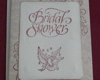 Bridal Shower Wedding Day  Card