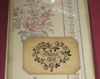 Thank You Greeting Card Handmade