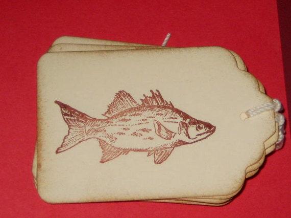 6 Fish Gift Tags