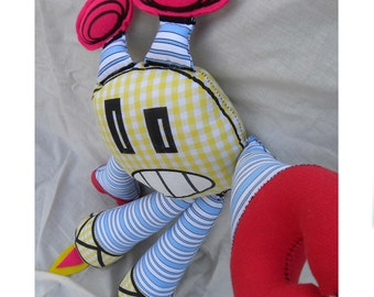 Bolt - Iggos - Robot - Plush - Doll