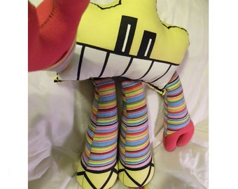 Robot - Plush - Toy - Iggos/Bumpy
