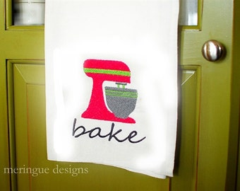 Stand Mixer - Machine Embroidery Designs