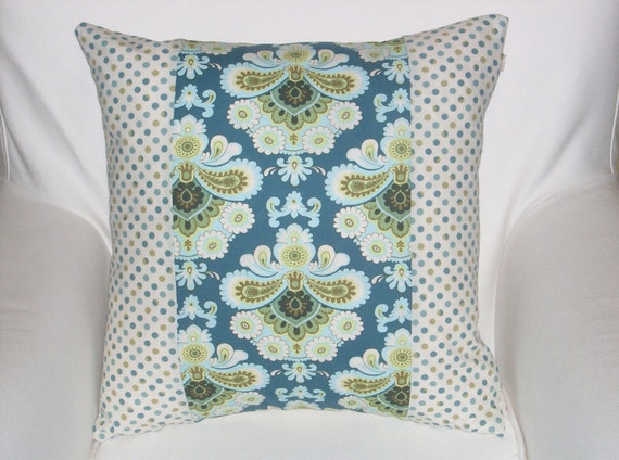 SALE Amy Butler fabric pillow covers, 18 inch square