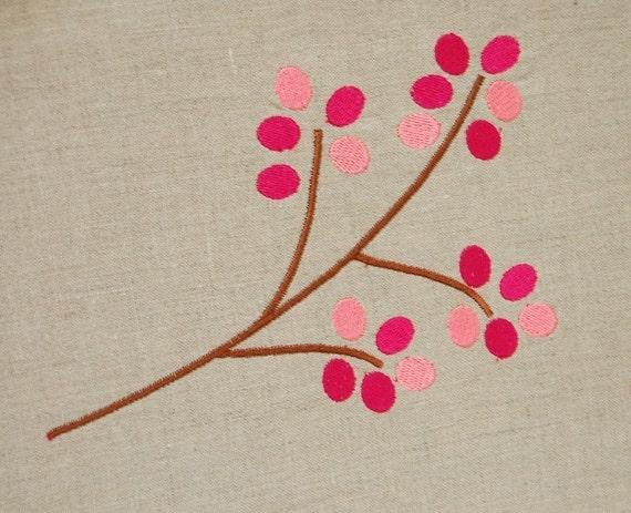 New modern machine embroidery makaroka