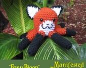 Octopus Plush - Fox - Amigurumi Crochet - Foxy Bloop
