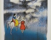 Snow White & A-bomb TAKUMA YOSHIDA giclee print on archival paper